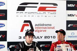 Pole winner Jolyon Palmer, second place Philipp Eng