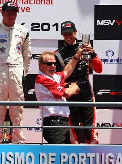 Podium: provisional third place Nicola de Marco