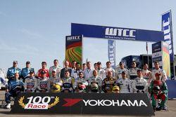 Yokohama viert 100ste race in WTCC