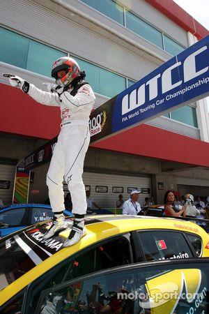 Tiago Monteiro, SR - Sport, Seat Leon 2.0 TDI wint de race