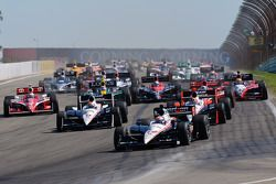 Start: Will Power, Team Penske, in Führung
