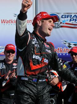 Victory lane: race winnaar Will Power, Team Penske