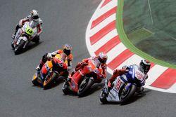 Jorge Lorenzo, Fiat Yamaha Team, Casey Stoner, Ducati Marlboro Team, Andrea Dovizioso, Repsol Honda Team