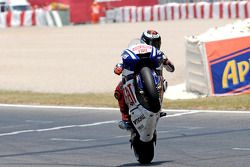 Race winner Jorge Lorenzo, Fiat Yamaha Team