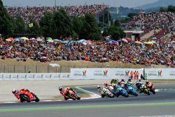 Casey Stoner, Ducati Marlboro Team, Andrea Dovizioso, Repsol Honda Team