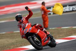 Casey Stoner, Ducati Marlboro Team finishes third