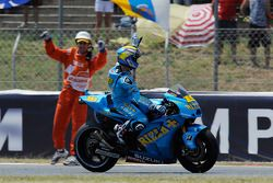 Alvaro Bautista, Rizla Suzuki MotoGP finishes 5th