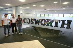 Bruno Senna, Hispania Racing F1 Team, Mark Gallagher, General Manager of Cosworth's F1 Business Unit