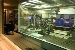 Cosworth engine, bezoekt de Cosworth-fabriek in Northhampton
