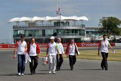 Paul di Resta, testrijder, Force India F1 Team, Vitantonio Liuzzi, Force India F1 Team