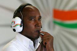 Anthony Hamilton, père de Lewis Hamilton, McLaren Mercedes
