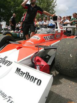 1973 McLaren Cosworth M23 (Emerson Fittipaldi): Sam Bird