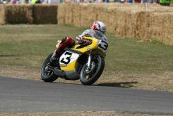 1974 Yamaha TZ700: John Hackett