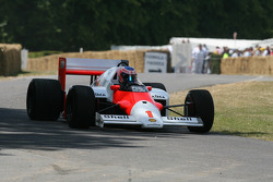 1986 McLaren Tag MP4/2C (Alain Prost): Jenson Button