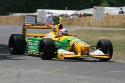 1992 Benetton Cosworth B192 (Michael Schumacher): Lorena McLaughlan