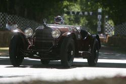1929 Mercedes-Benz 710 SSK: Eddie Beresford