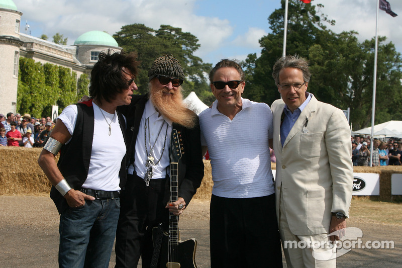 Jeff Beck, Billy Gibbons, Jimmie Vaughan, Lord March