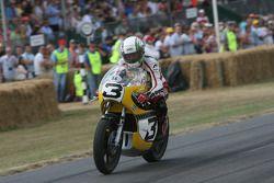 1974 Yamaha TZ 700: John Hackett