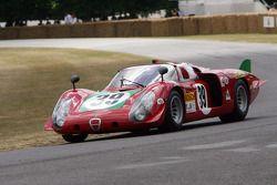 1968 Alfa Romeo Tipo 33/2 Le Mans: Dieter Roschmann
