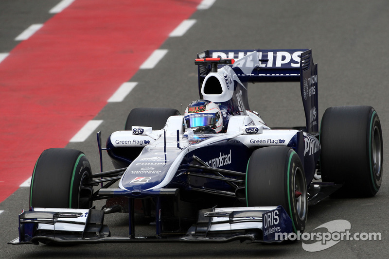 2010: Williams, 10º no campeonato (47 pts)