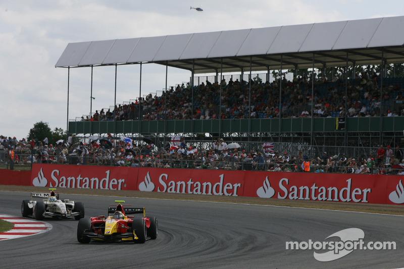 Christian Vietoris rijdt voor Sergio Perez