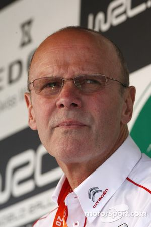Citroën Total World Rally Team director Olivier Quesnel