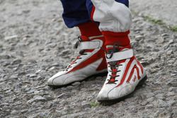 Racing shoes of Sébastien Ogier