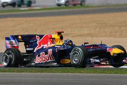 Sebastian Vettel, Red Bull Racing lekke band