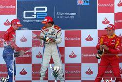 Oliver Turvey, Sergio Perez and Dani Clos