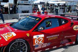 GT winnaars #62 Risi Competizione Ferrari F430 GT: Jaime Melo, Gianmaria Bruni