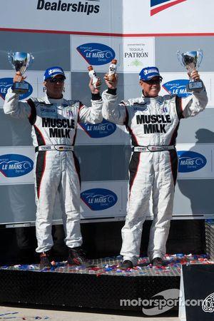 P klasse podium: 3de Greg Pickett en Klaus Graf