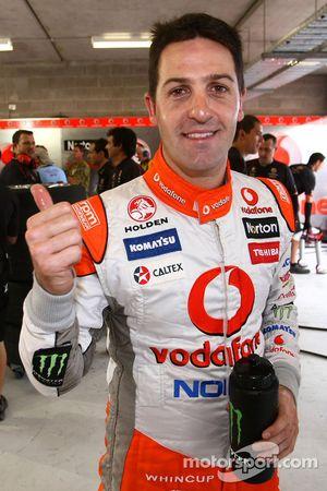 Jamie Whincup tweede pole van het weekend bij Townsville 400