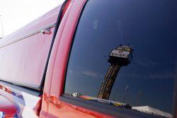 Chicagoland Speedway scoring tower