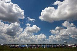 Fans are camped out for the LifeLock.com 400