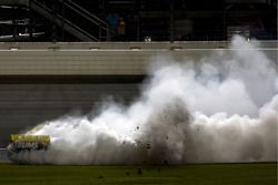 Race winnaar David Reutimann, Michael Waltrip Racing Toyota