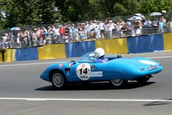 #14 Panhard HBR Barquette: Honoré Duret, Gilbert Lenoir, David Coursier