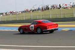 #66 Ferrari 275 GTB 1965: Olivier Blanpain, Christophe Van Riet