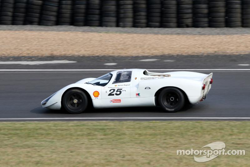 #25 Porsche 9081968: Hervé Regout, Jean-Michel Martin