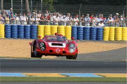 Spin voor #61 Alfa Romeo T33/2 1968: David Jacobs