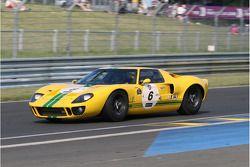 #6 Ford GT40 1965: Carlos Monteverde, Gary Pearson, Andrew Smith, Thomas Erdos