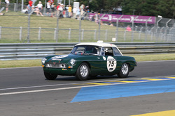 #75 MGB 1963: David Green, Matthew Green
