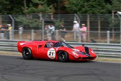 #21 Lola T70 MK III 1967: Bernard Thuner