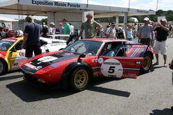 #5 De Tomaso Pantera 1974: David Gasken