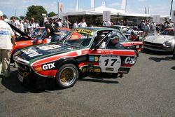 #17 BMW 3,0 CSL 1973: Stanislas de Sadeleer, Claude Sage, Pierre Fillon
