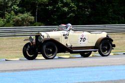 #70 Delage DE 1923: Eric Perou, Emmanuel de Stoppani,Luc Cheminot