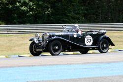 #63 Lagonda M45 T7 1934: Jaime Puech Duran, Carlos de Miguel, Ignacio Puech, Miguel Arias Canete