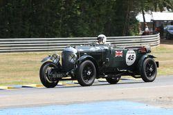 #45 Bentley 4,5L Le Mans 1928: Lars Rolner, Andreas Rolner, Pedro Fernetez