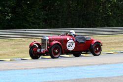 #57 Lagonda LG45 1936: Richard Reay Smith, Peter Fenichel