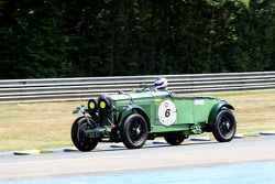 #6 Talbot 105 GO51 1931: Adrien Van der Kroft, James Wood