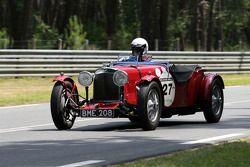 #27 Aston Martin Le Mans 1933: Philippe Lanternier, Henri De Puybusque, Gildas Lecomte du Noây